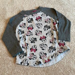 Disney Minnie Mouse Long Sleeve Top 2T